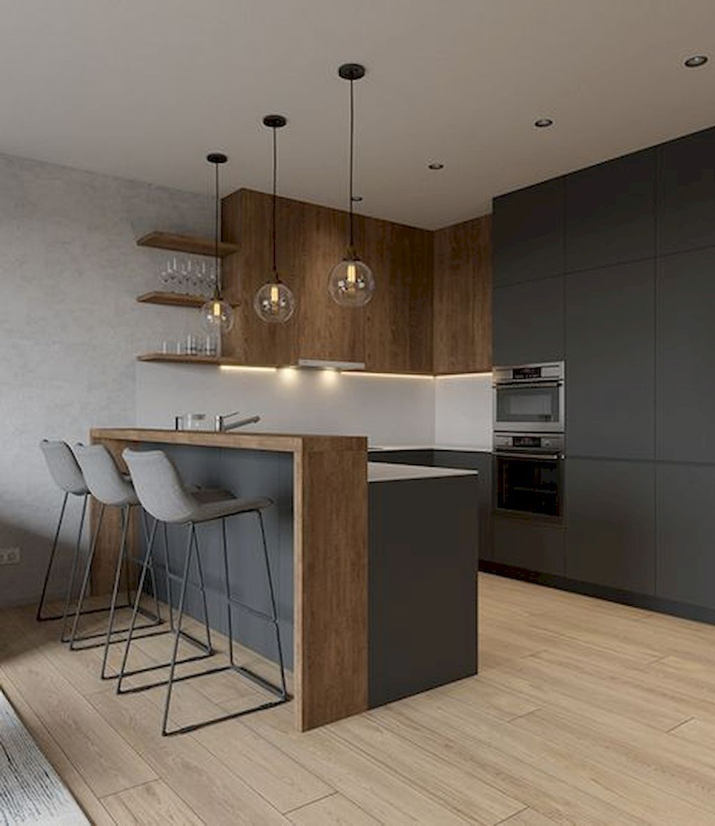 Popular Minimalist Kitchen Design Ideas You Never Seen Before 19