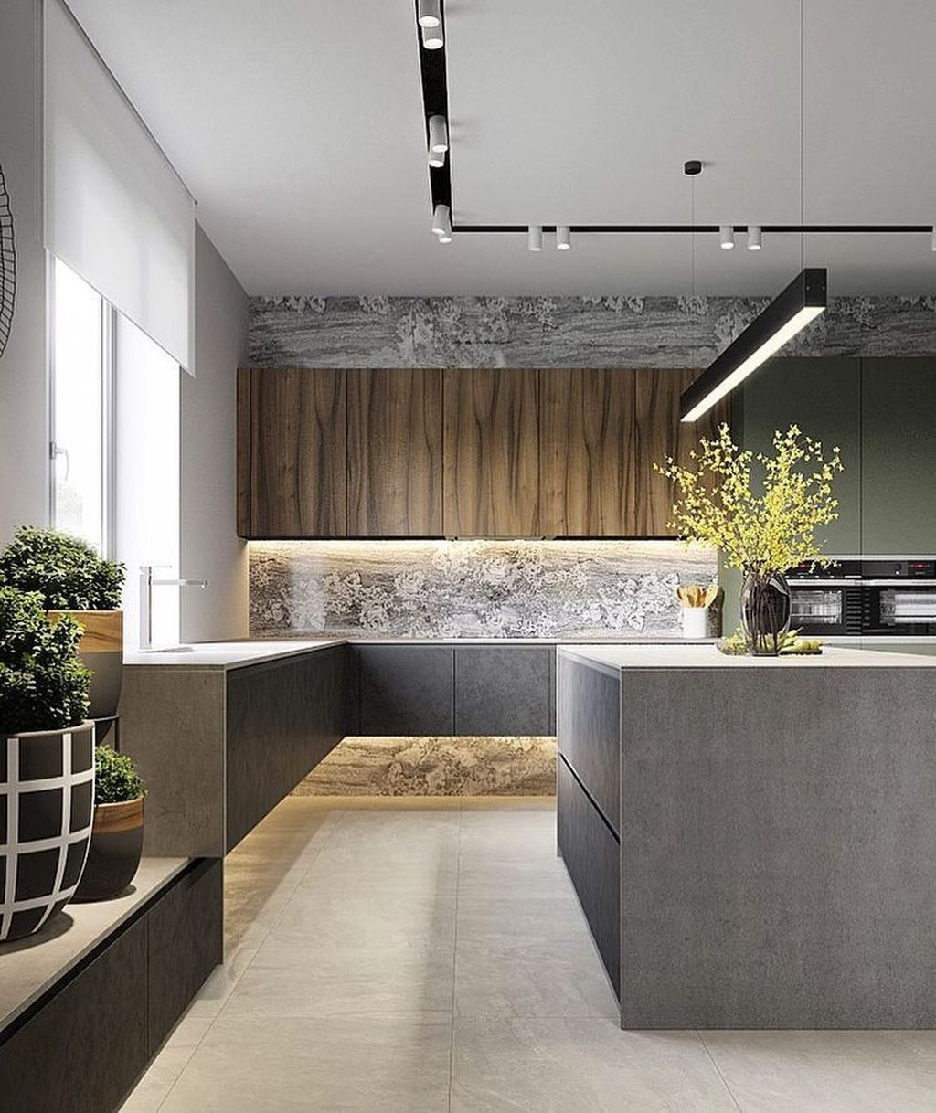 Popular Minimalist Kitchen Design Ideas You Never Seen Before 26