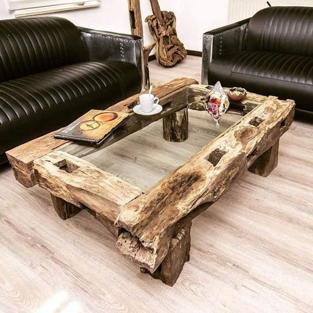 Stunning Coffee Table Design Ideas To Decorate Your Living Room 16