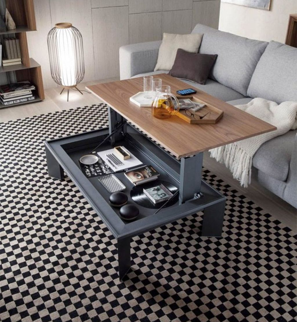 Stunning Coffee Table Design Ideas To Decorate Your Living Room 34