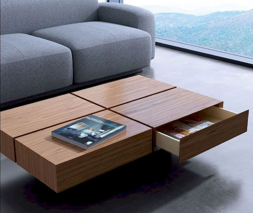 Stunning Coffee Table Design Ideas To Decorate Your Living Room 35