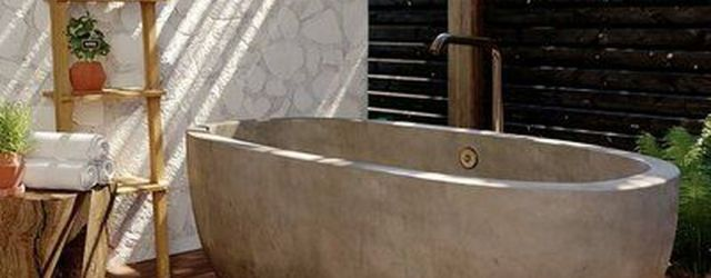 Stunning Outdoor Bathroom Design Ideas You Should Try 28