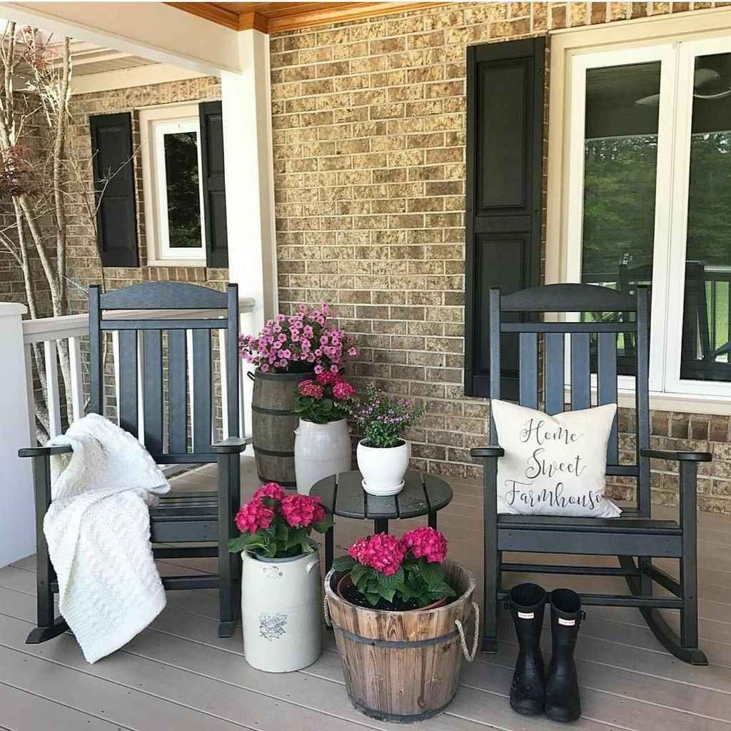 The Best Small Front Porch Ideas To Beautify Your Home 21