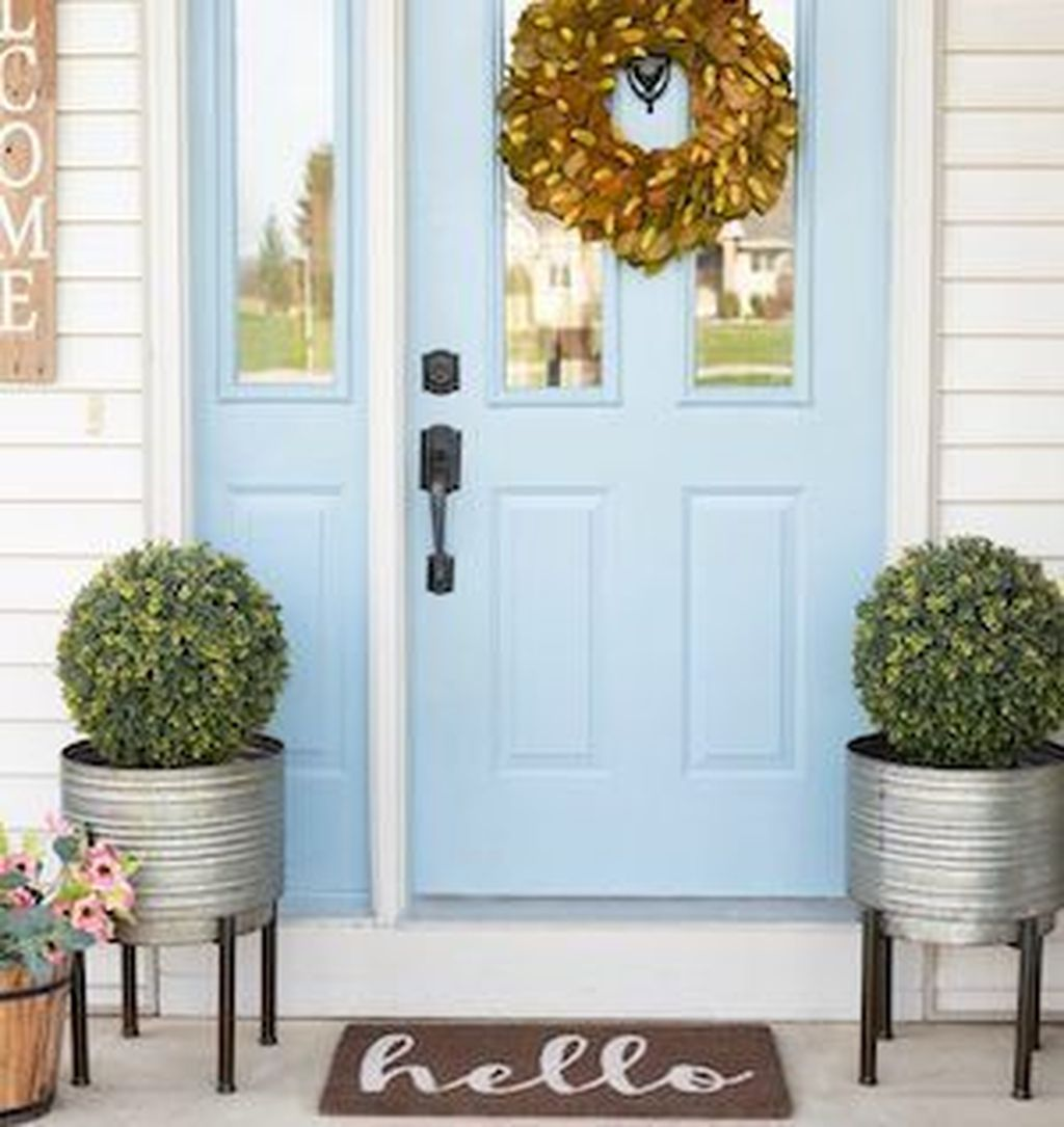 The Best Small Front Porch Ideas To Beautify Your Home 23