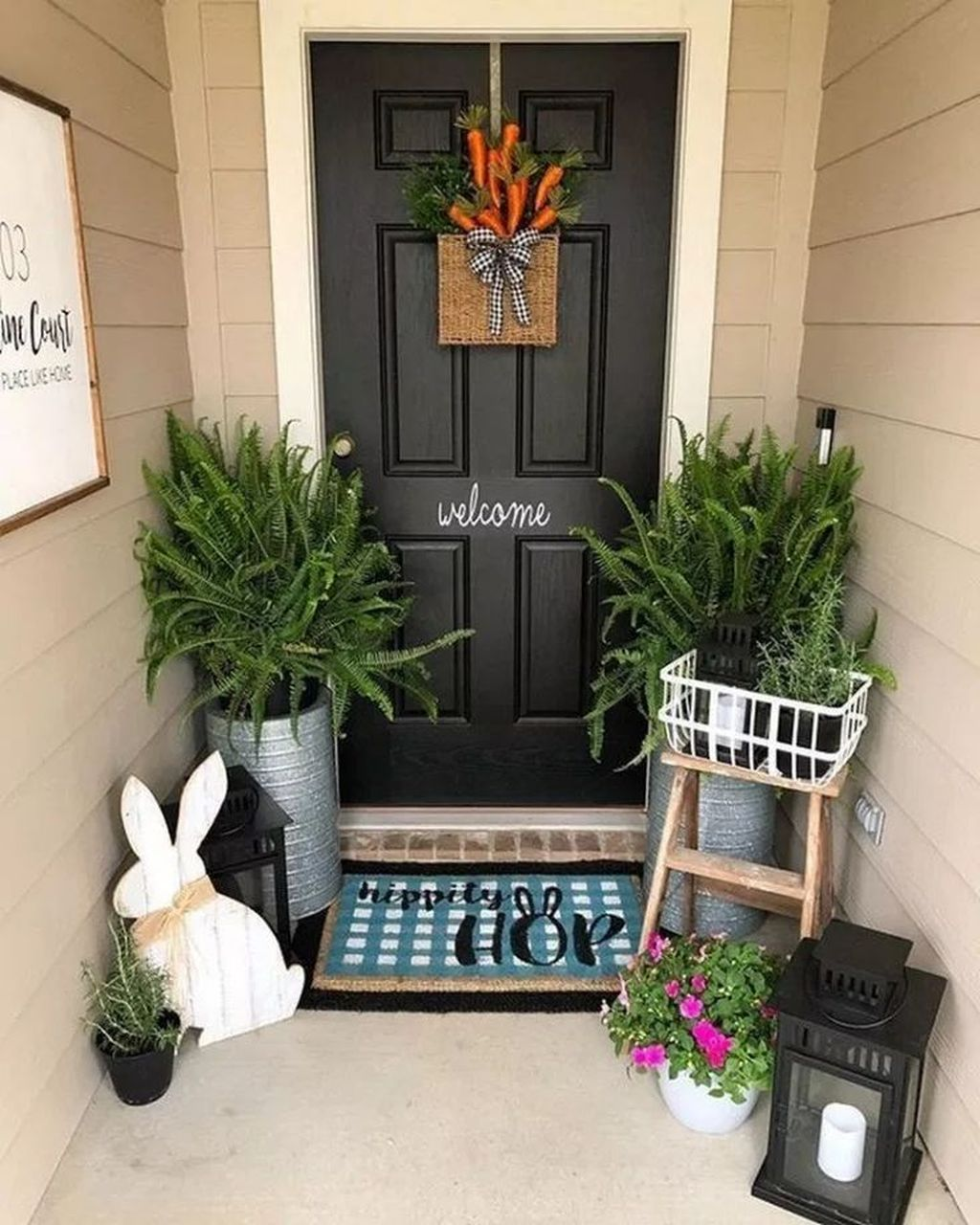 small front porch ideas to beautify