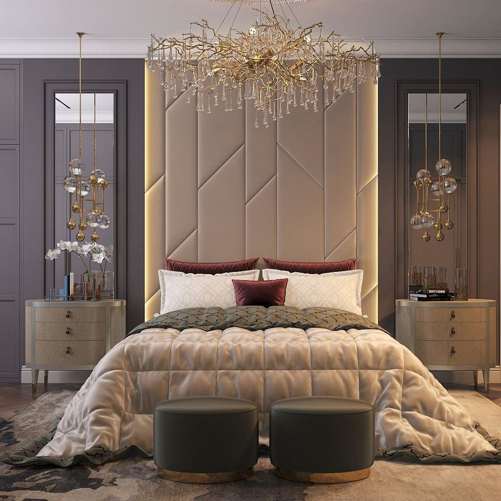 Wonderful Luxury Bedroom Design Ideas You Will Love 06