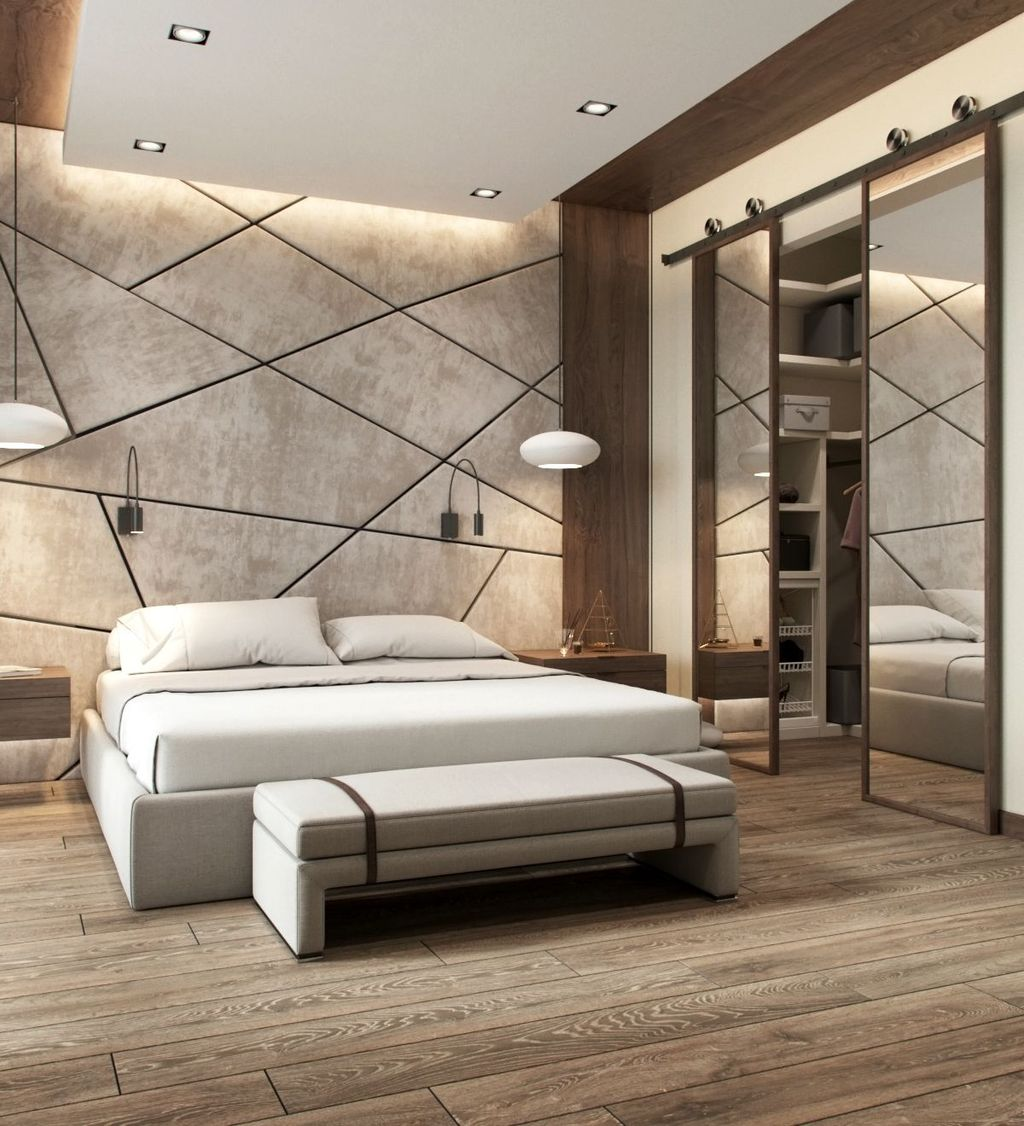 Wonderful Luxury Bedroom Design Ideas You Will Love 07
