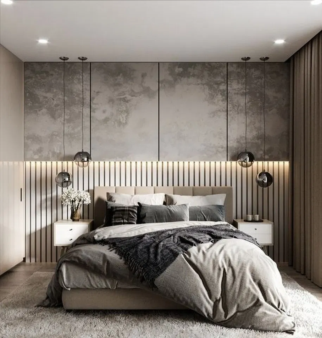 Wonderful Luxury Bedroom Design Ideas You Will Love 30