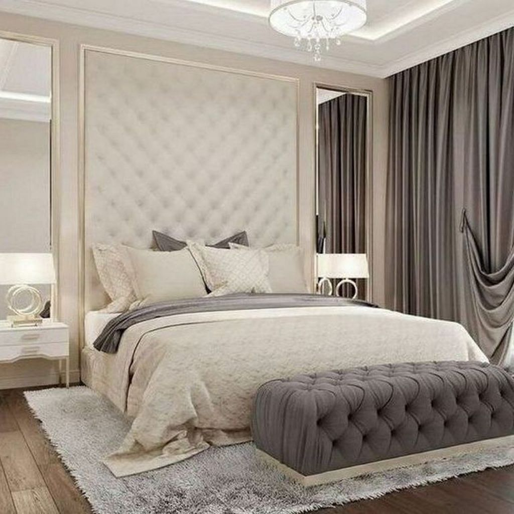 Wonderful Luxury Bedroom Design Ideas You Will Love 34