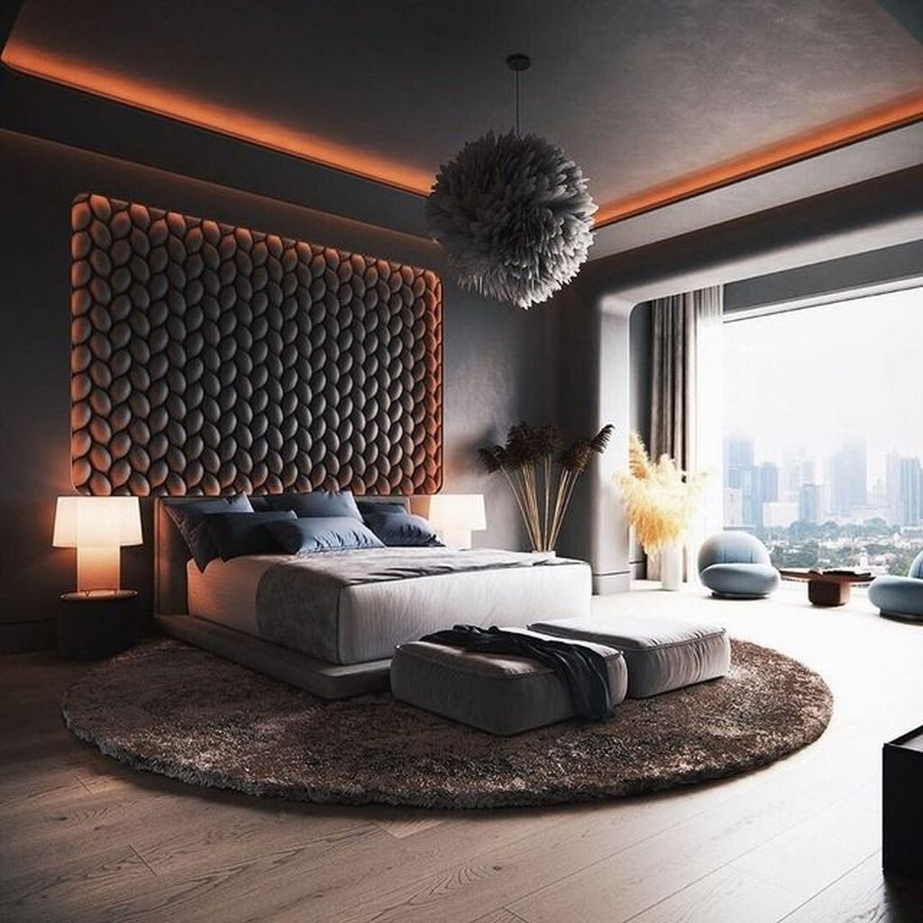 Wonderful Luxury Bedroom Design Ideas You Will Love 35