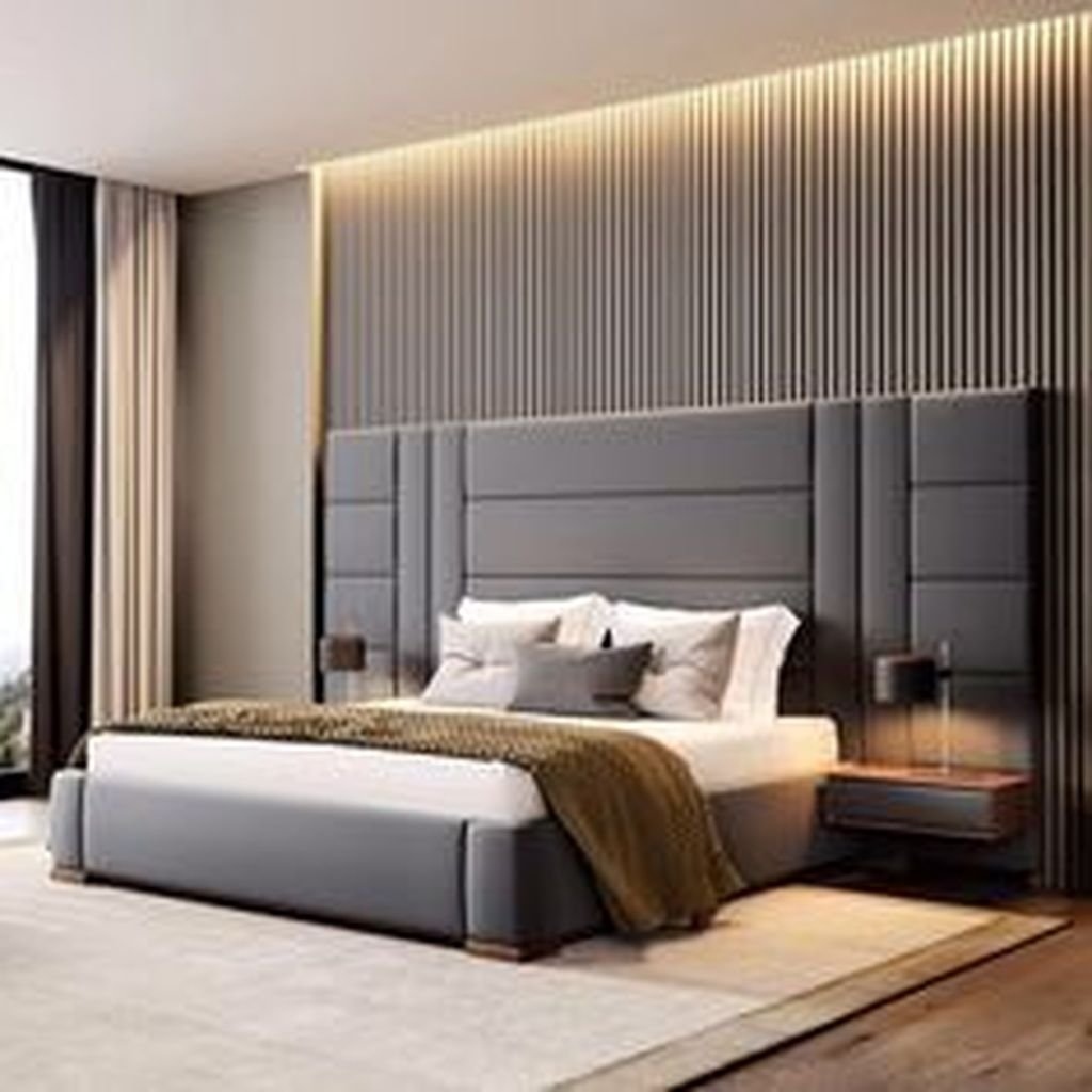 Wonderful Luxury Bedroom Design Ideas You Will Love 36