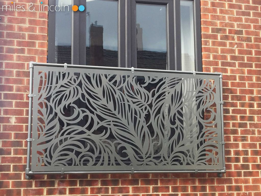 Awesome Balcony Railing Design Ideas To Beautify Your Exterior 18