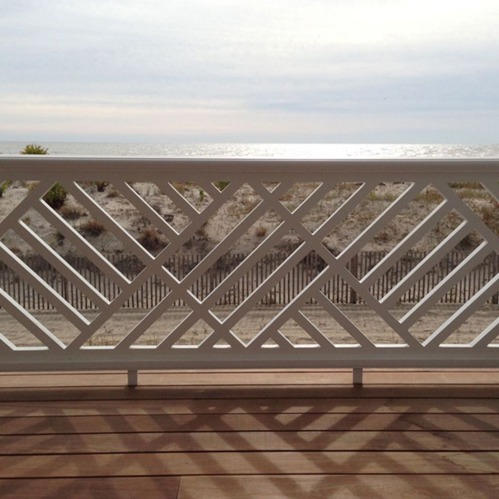 Awesome Balcony Railing Design Ideas To Beautify Your Exterior 21