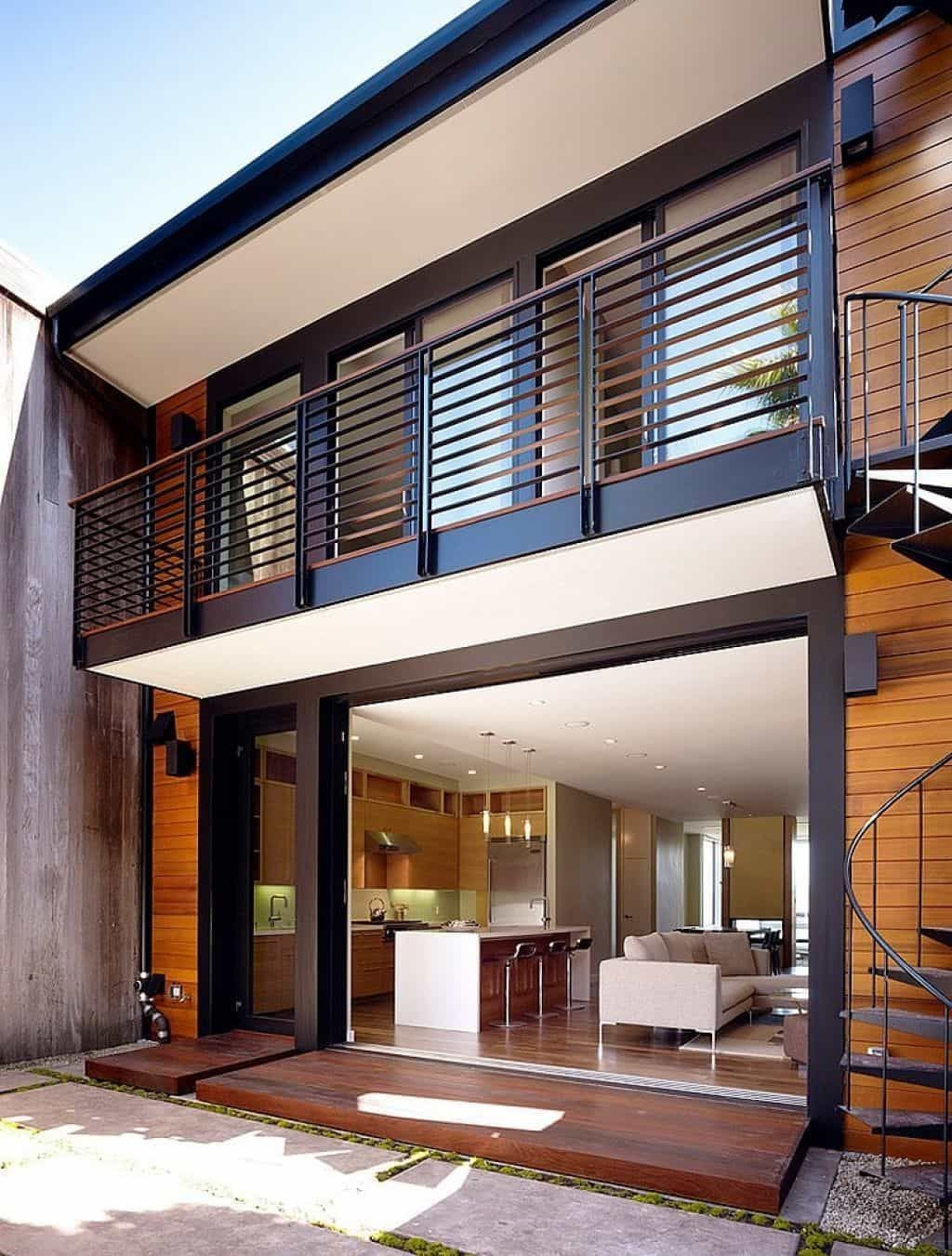 Awesome Balcony Railing Design Ideas To Beautify Your Exterior 26