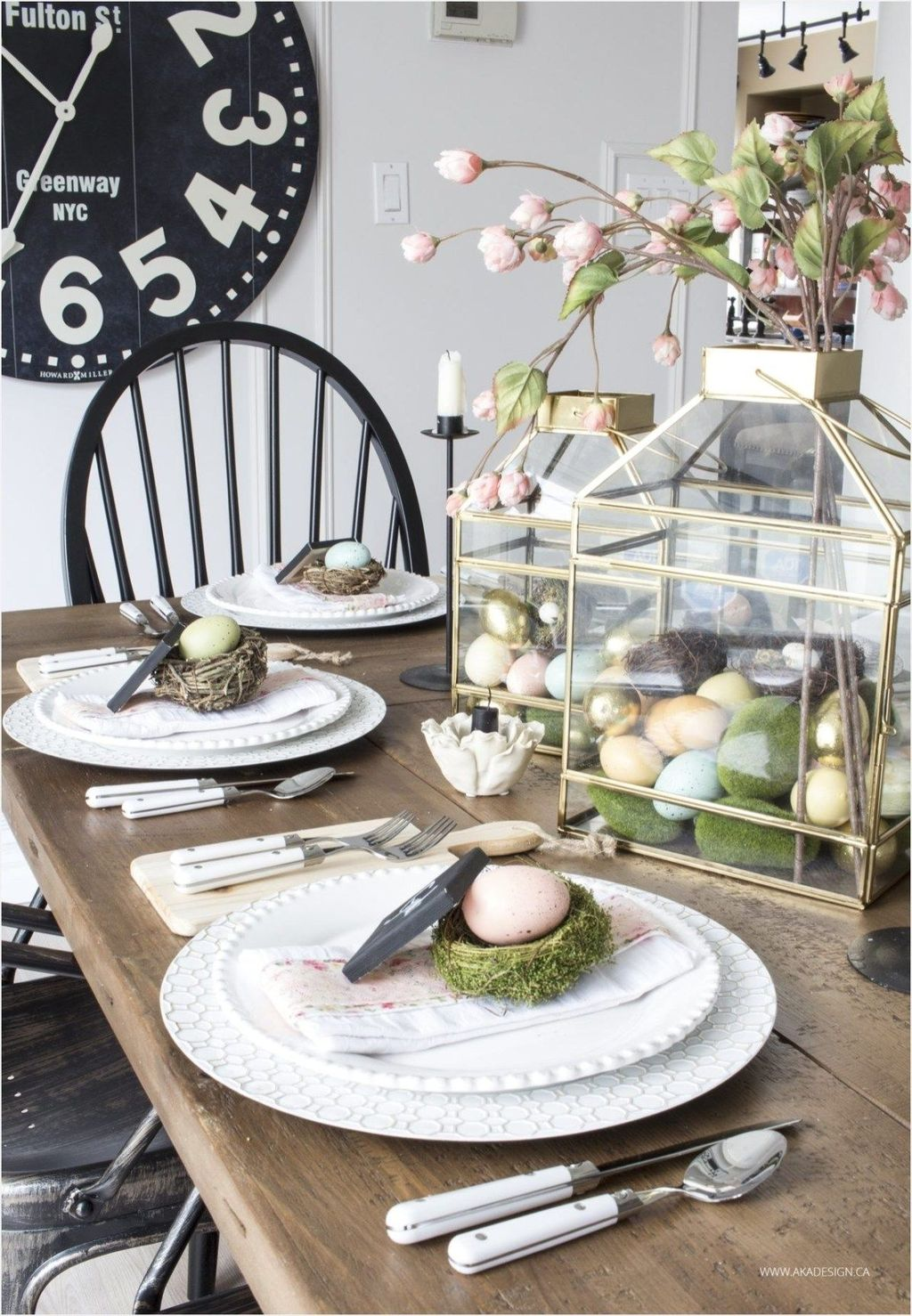 Awesome Spring Table Centerpieces With Farmhouse Style 25