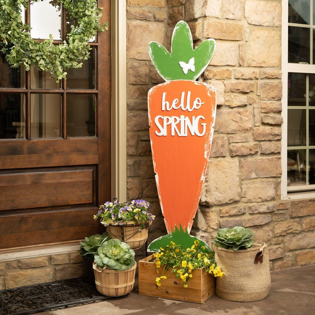Beautiful Spring Outdoor Decor Ideas 22