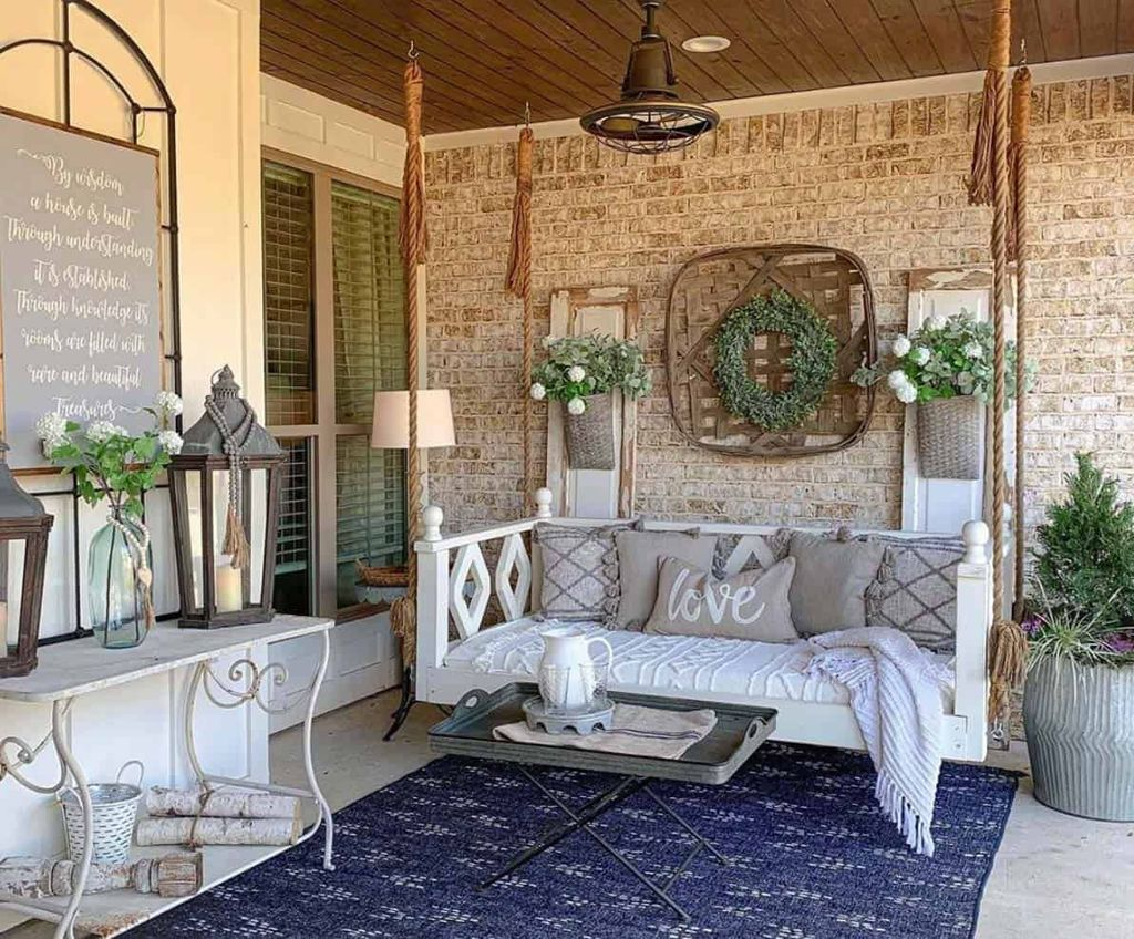 Beautiful Spring Outdoor Decor Ideas 24