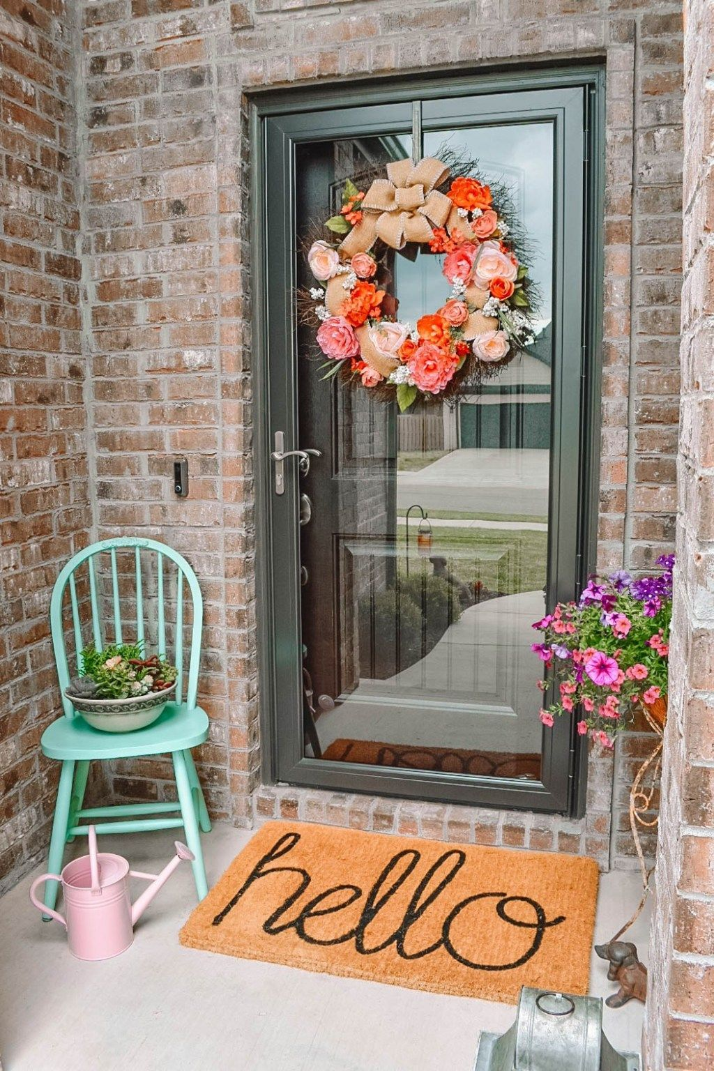 Beautiful Spring Outdoor Decor Ideas 33