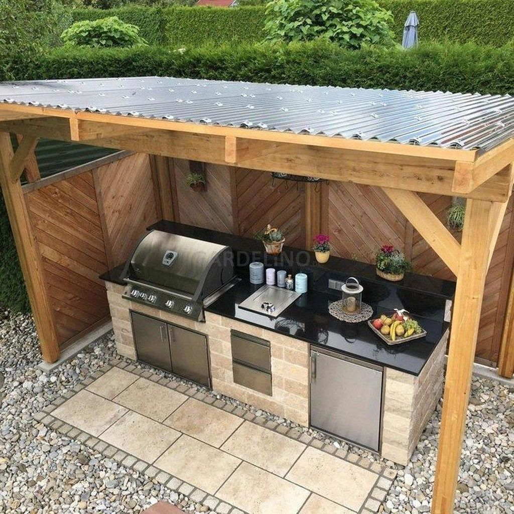 Fabulous Outdoor Kitchen Design Ideas 02
