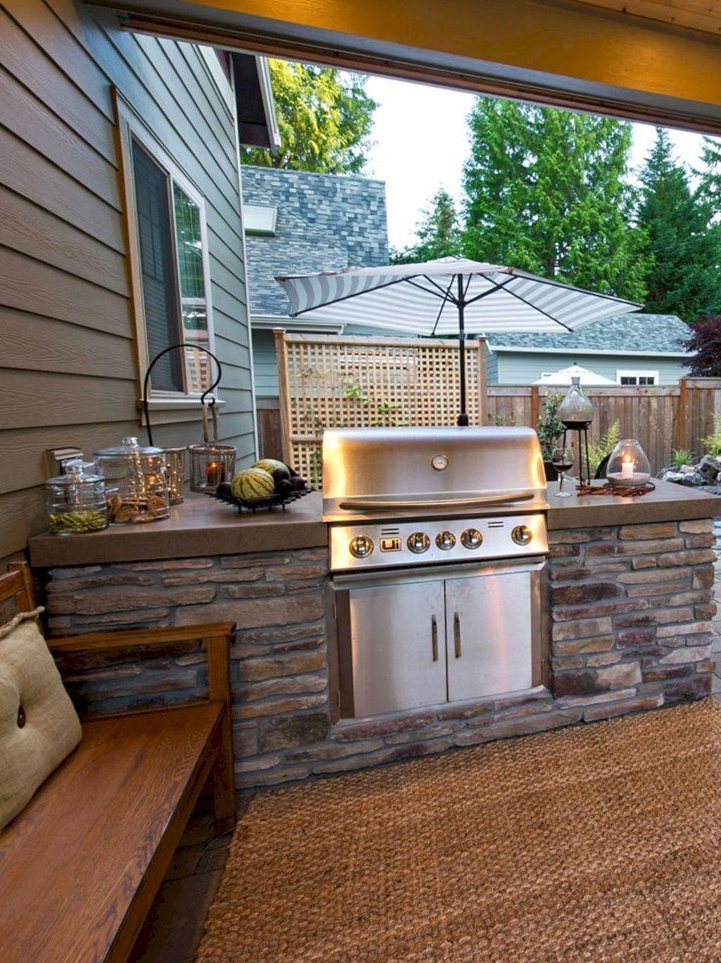 Fabulous Outdoor Kitchen Design Ideas 05