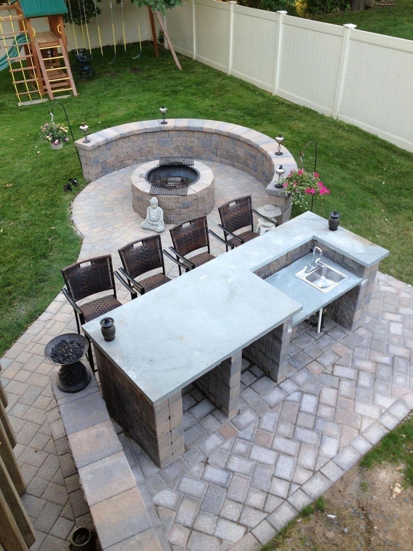 Fabulous Outdoor Kitchen Design Ideas 08