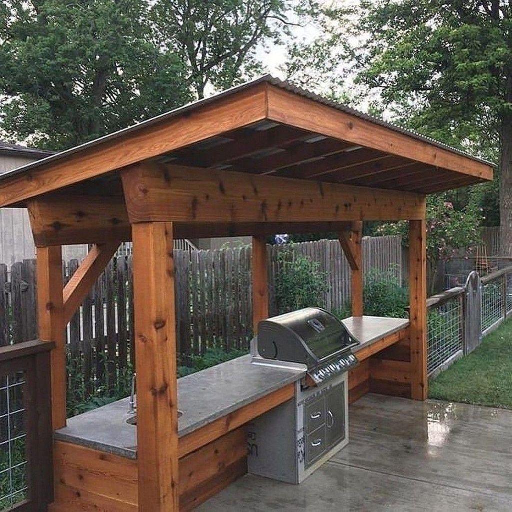 Fabulous Outdoor Kitchen Design Ideas 20