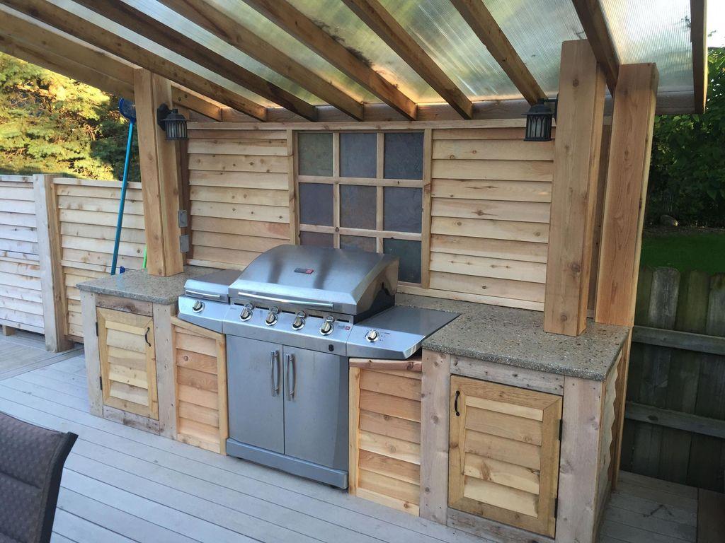 Fabulous Outdoor Kitchen Design Ideas 30