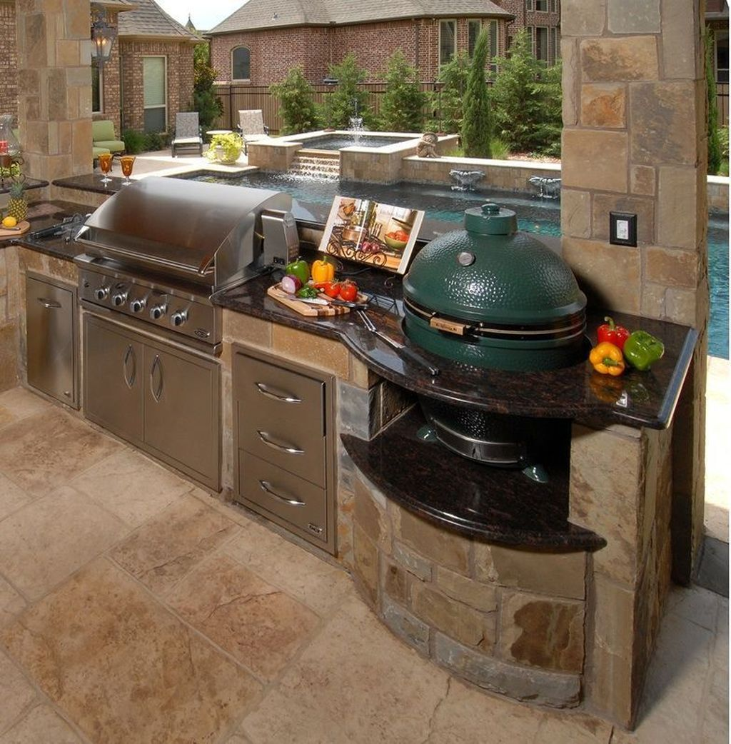 Fabulous Outdoor Kitchen Design Ideas 32