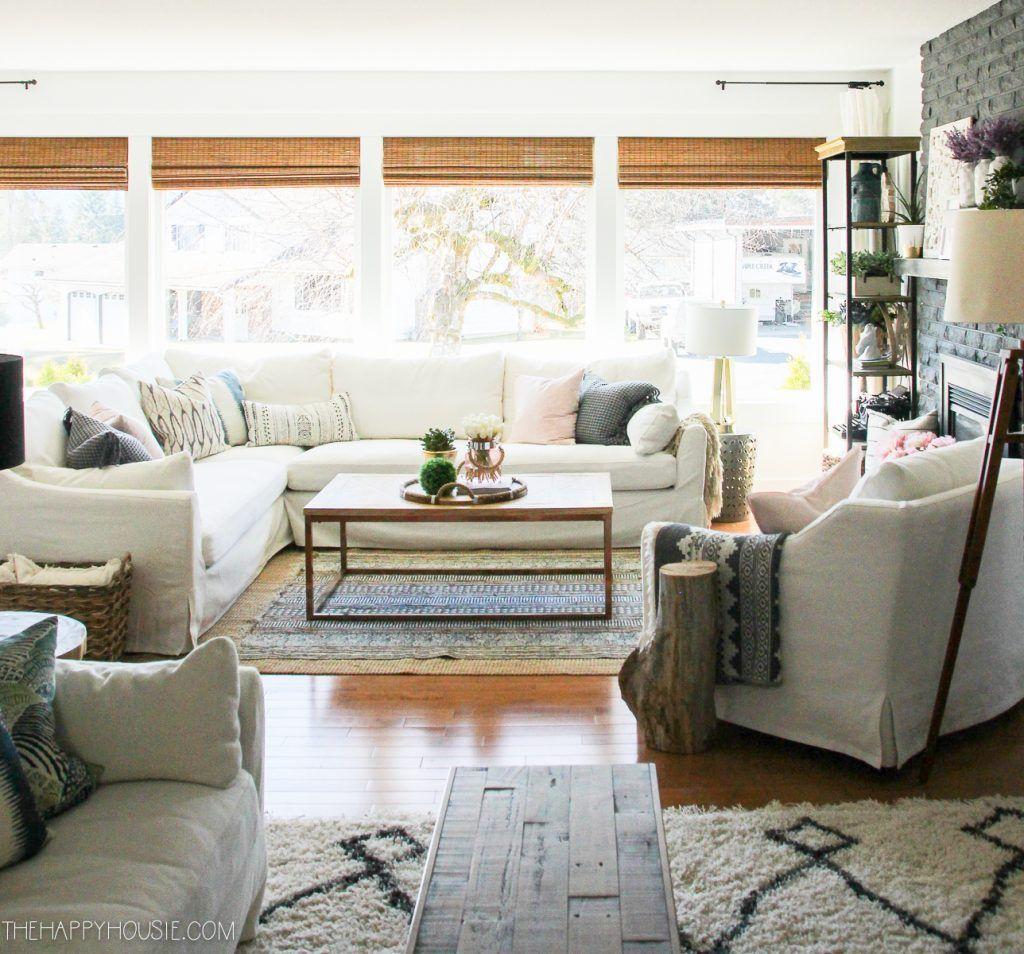 Fabulous Spring Living Room Decor Ideas 09
