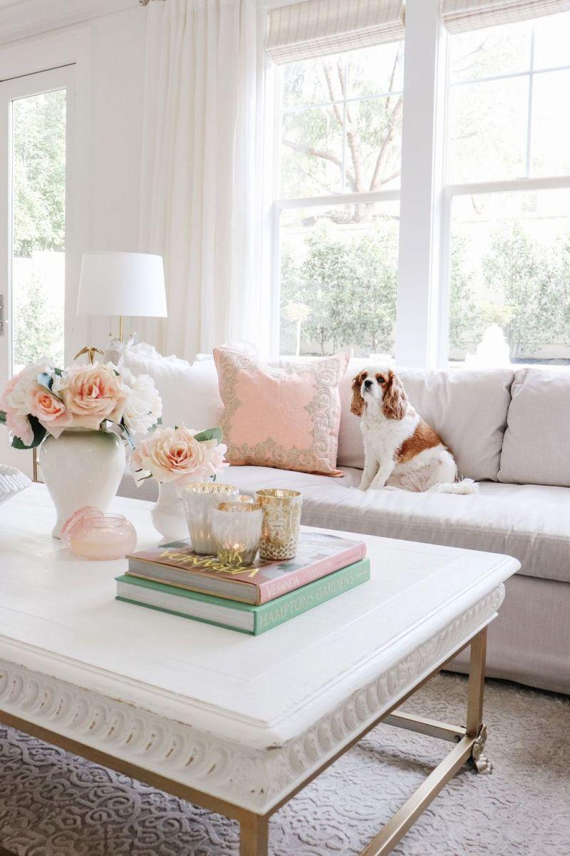Fabulous Spring Living Room Decor Ideas 20