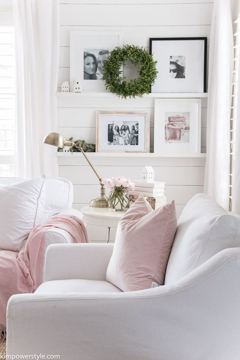 Fabulous Spring Living Room Decor Ideas 23