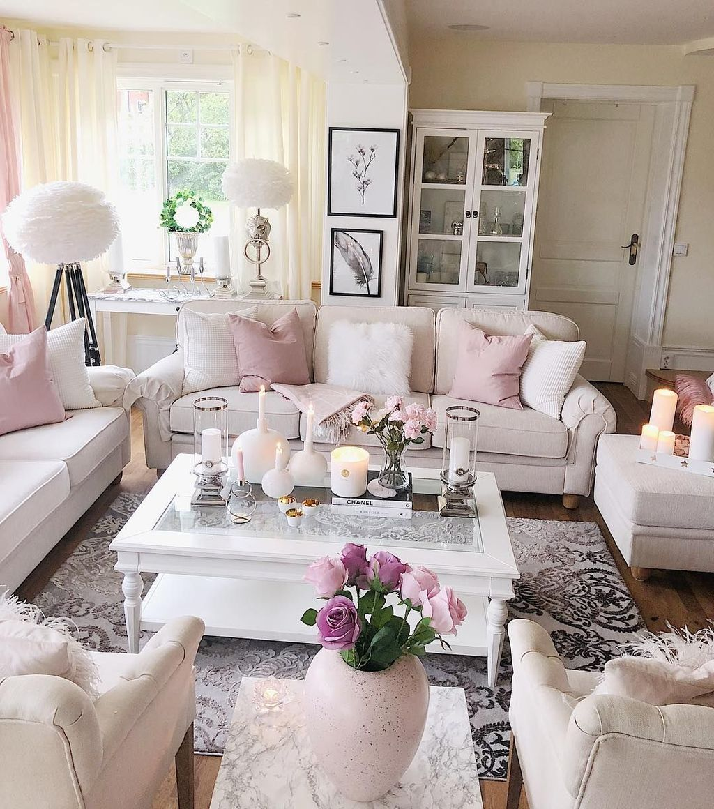 Fabulous Spring Living Room Decor Ideas 30