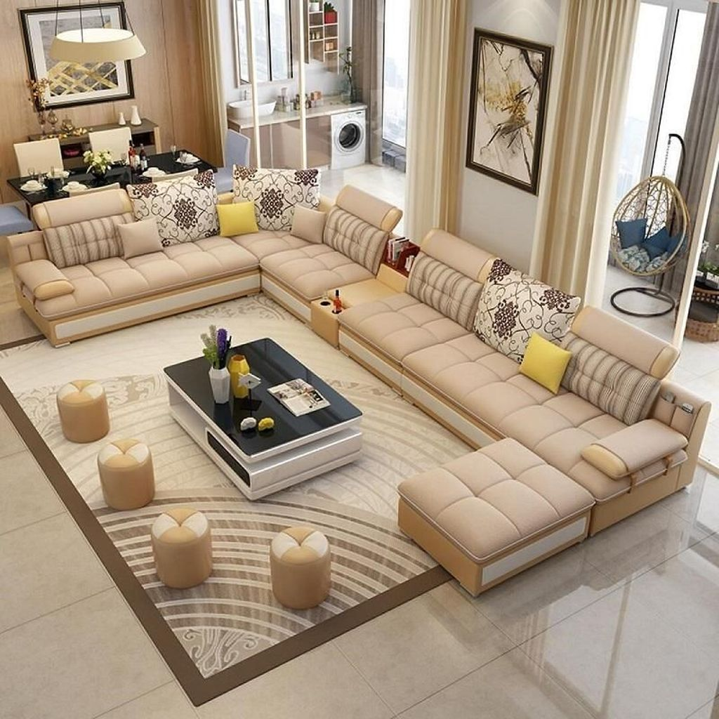Gorgeous Luxury Modern Furniture For Living Room 32