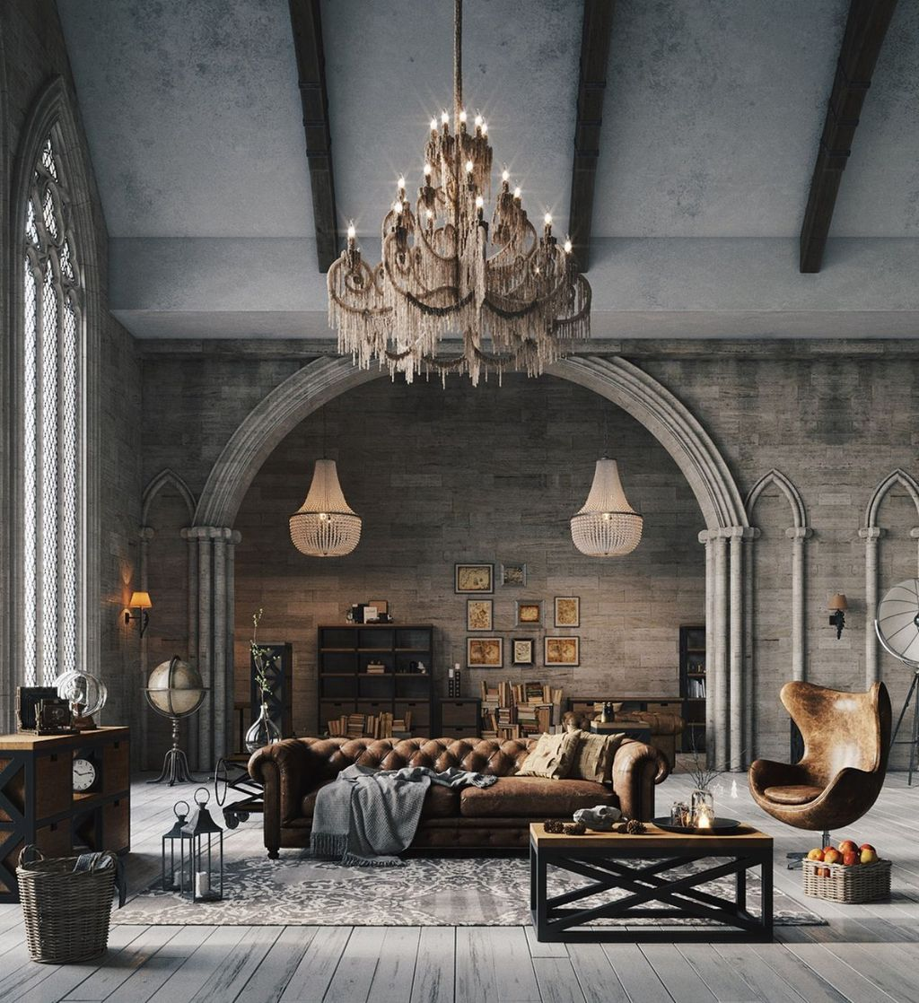 Inspiring Gothic Interior Design Ideas 10