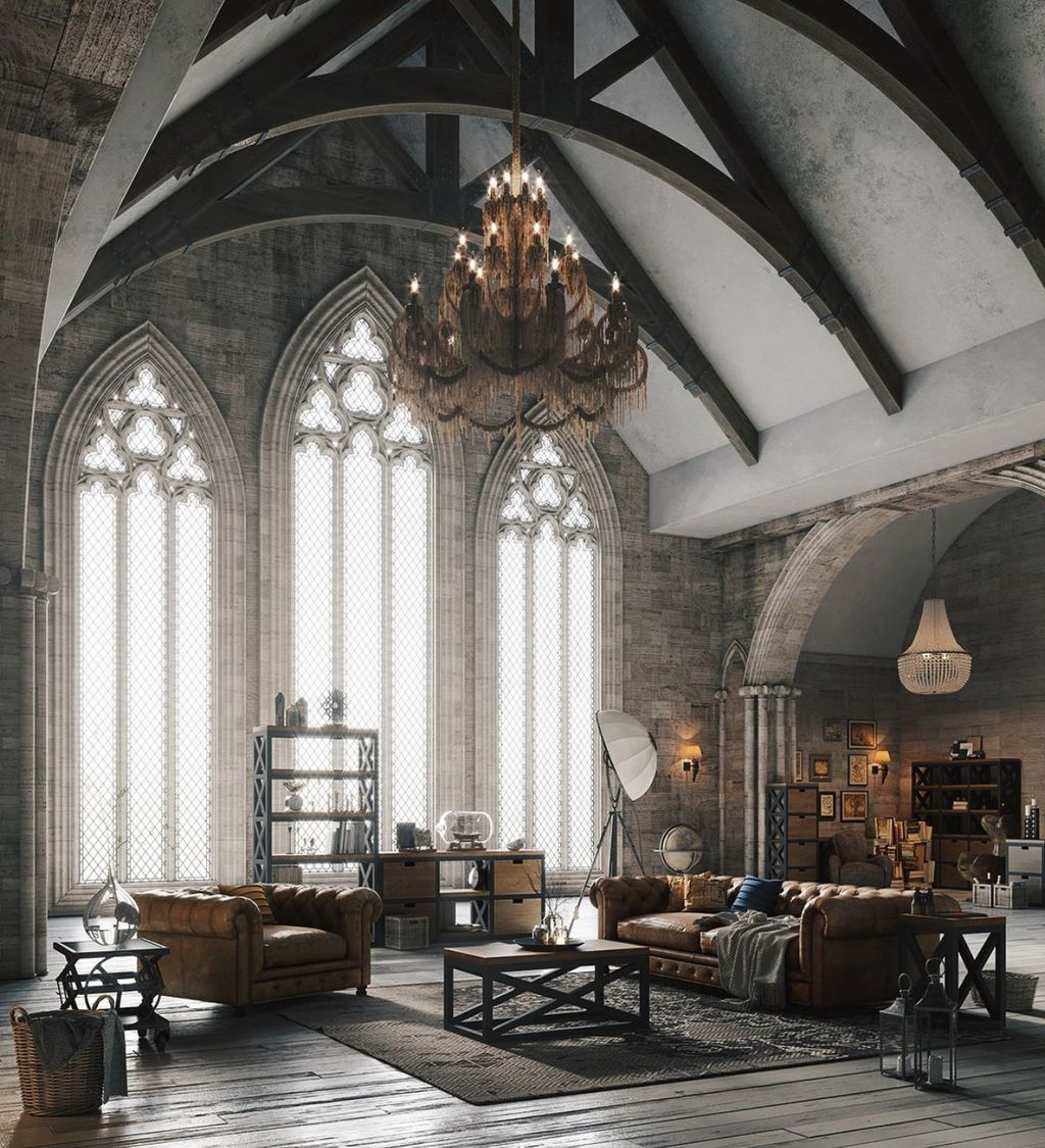 Inspiring Gothic Interior Design Ideas 26