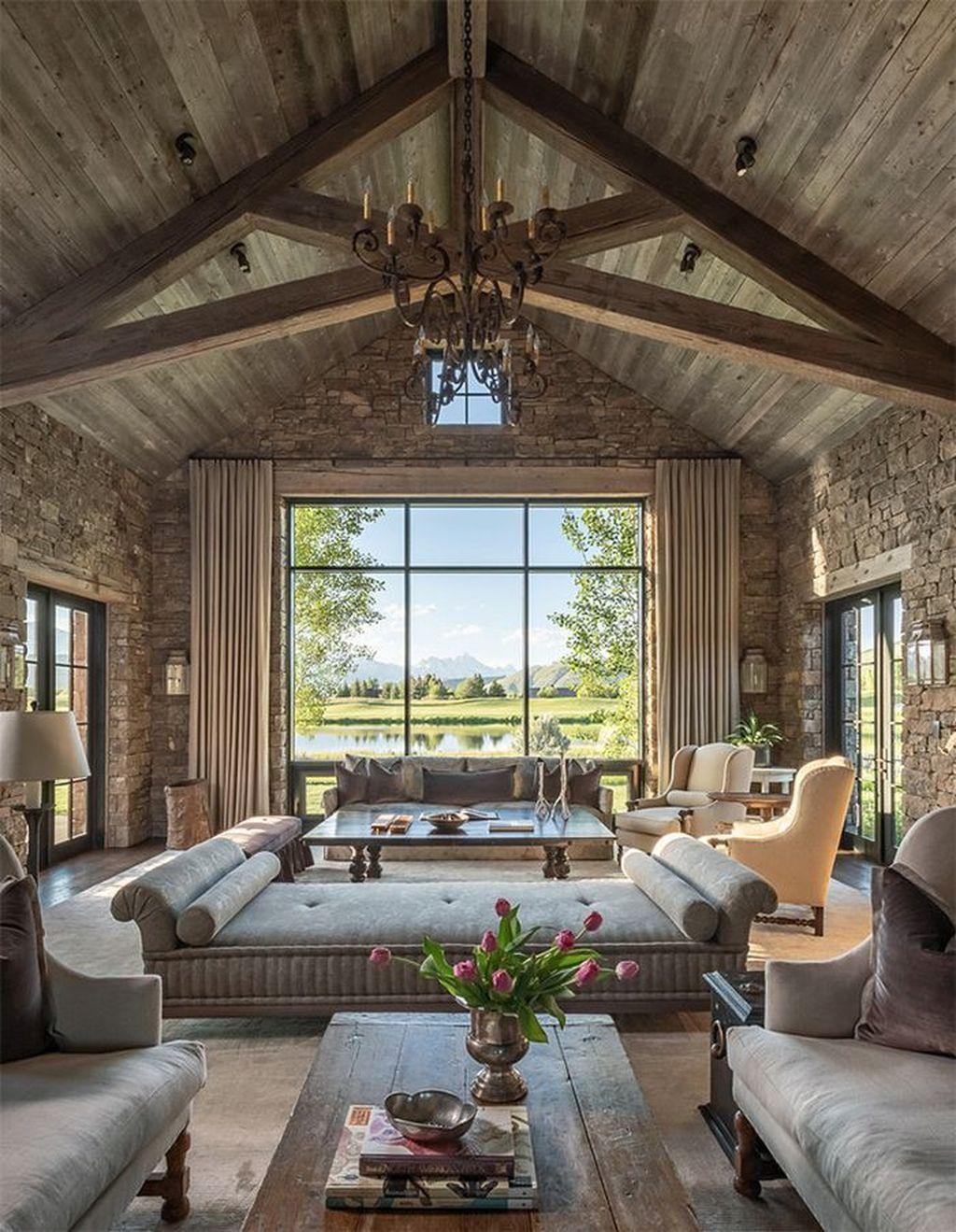 Lovely Modern Farmhouse Living Room Decor Ideas 21