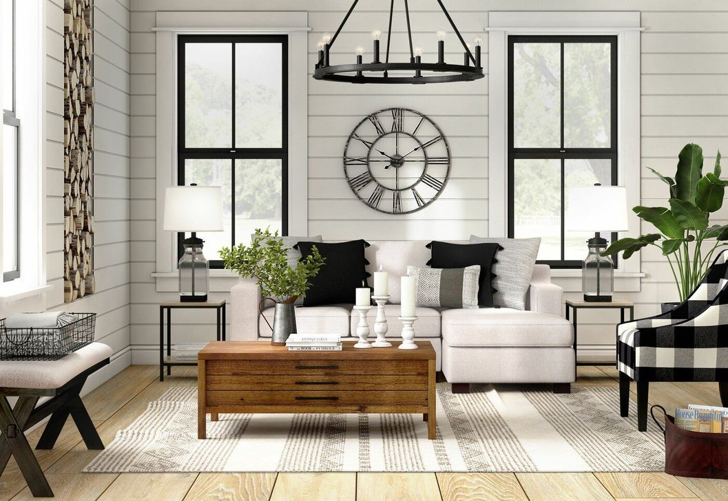 Lovely Modern Farmhouse Living Room Decor Ideas 27