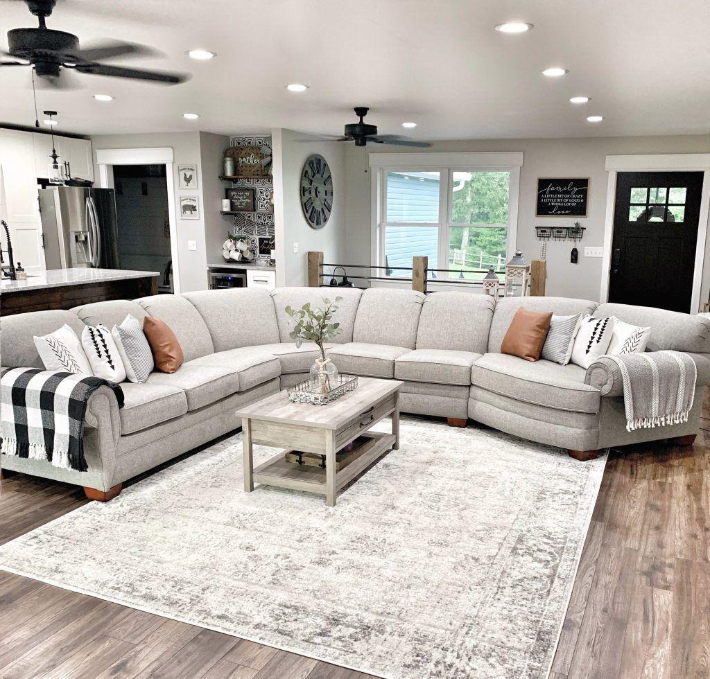 Lovely Modern Farmhouse Living Room Decor Ideas 31