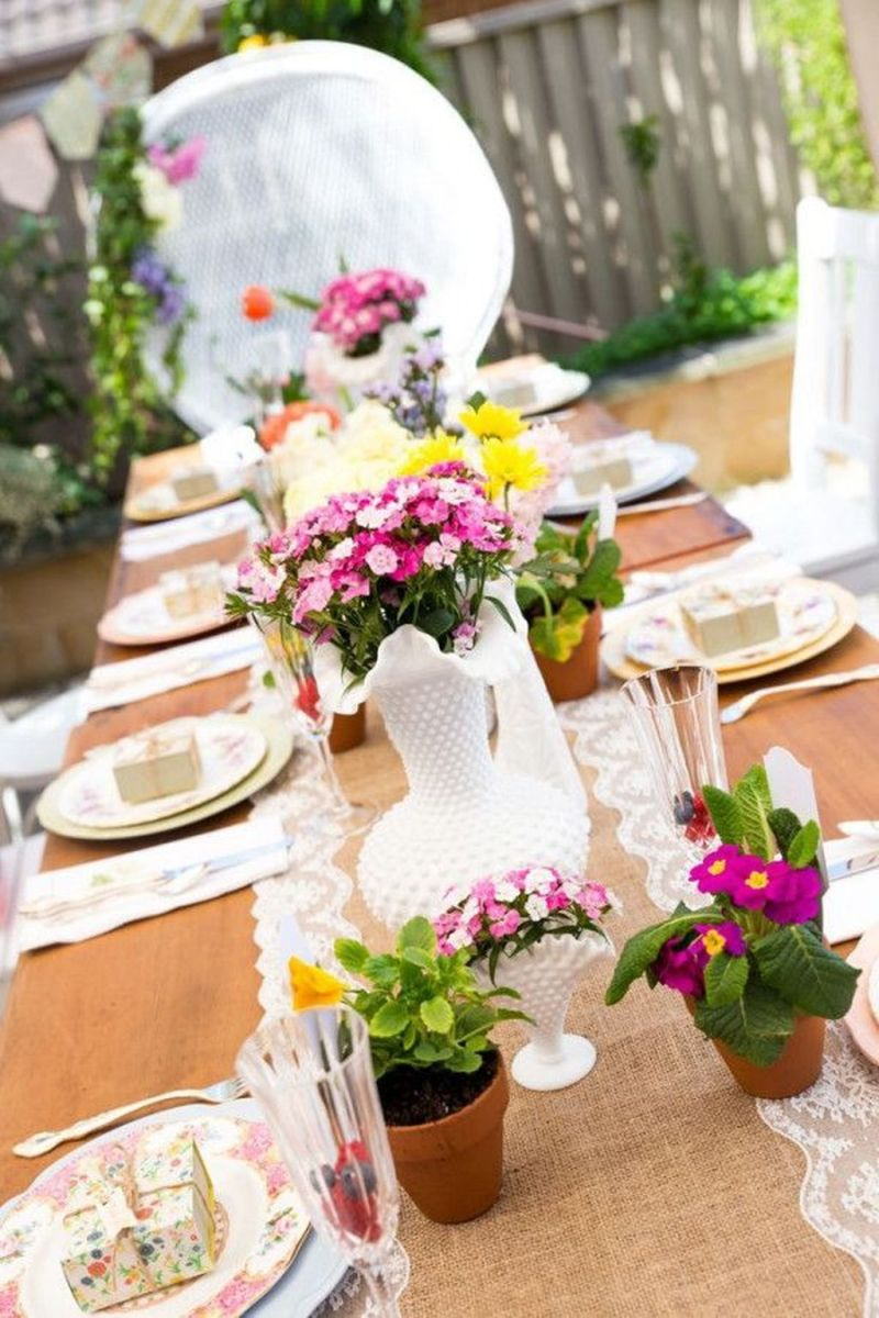 Lovely Spring Baby Shower Themes Decor Ideas 04