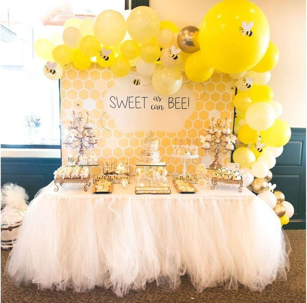 Lovely Spring Baby Shower Themes Decor Ideas 17