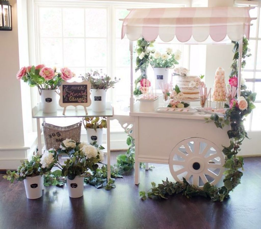 Lovely Spring Baby Shower Themes Decor Ideas 35