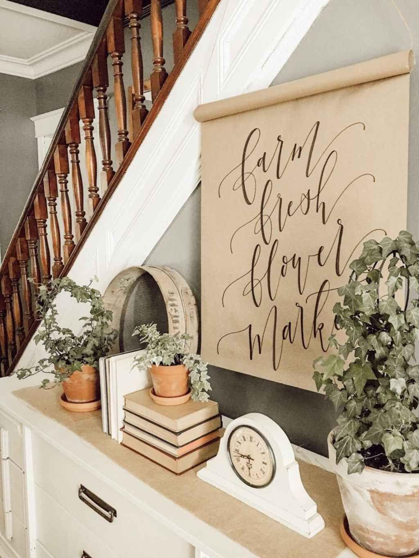 Perfect Farmhouse Spring Decor Ideas 04