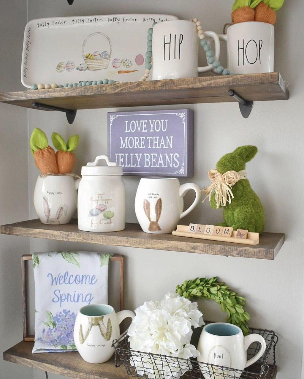 Perfect Farmhouse Spring Decor Ideas 12