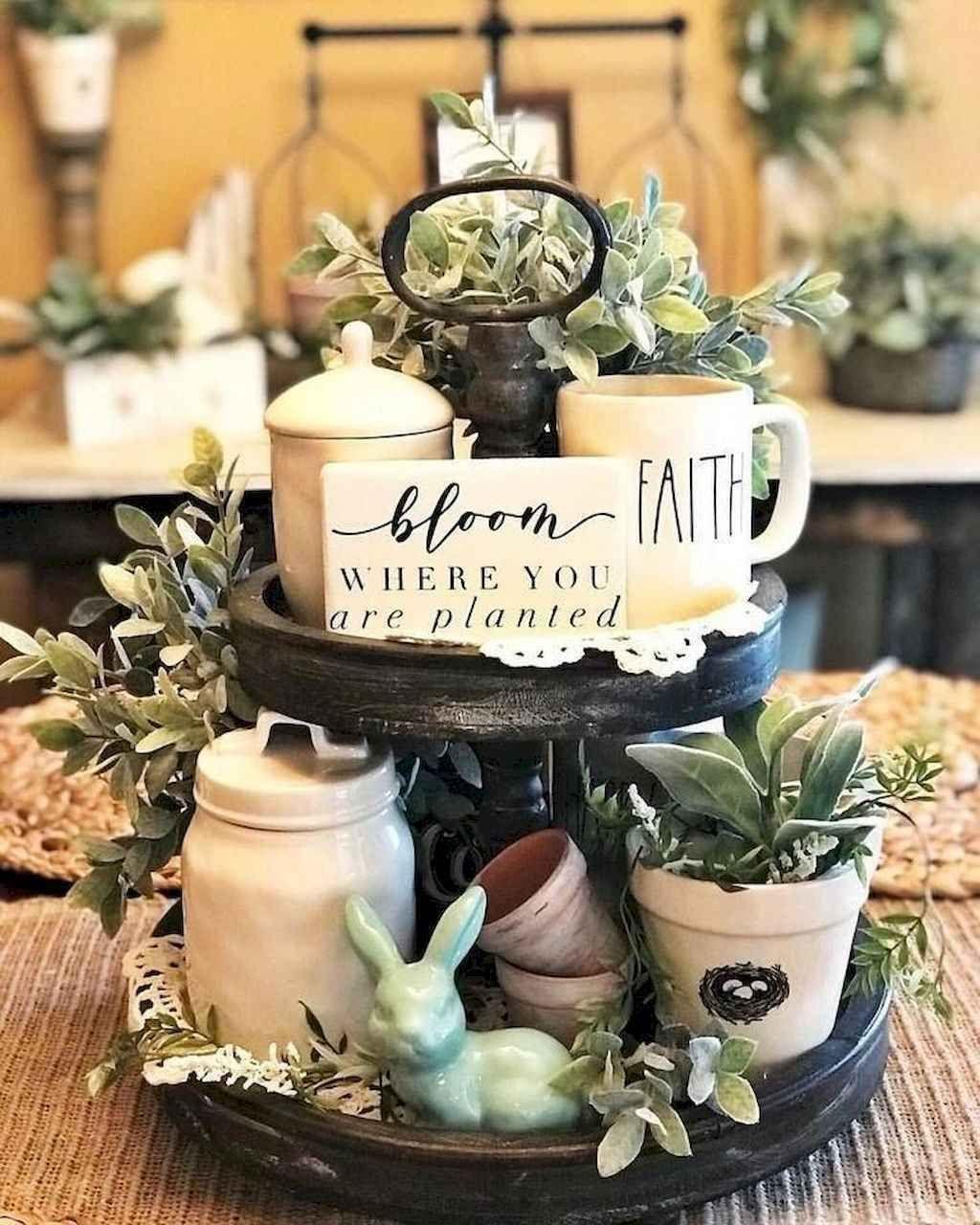 Perfect Farmhouse Spring Decor Ideas 26