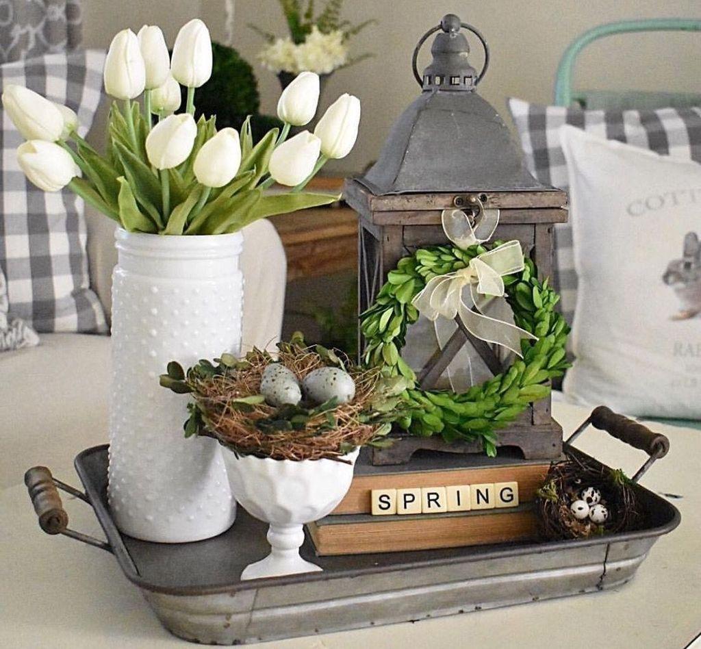 Perfect Farmhouse Spring Decor Ideas 32