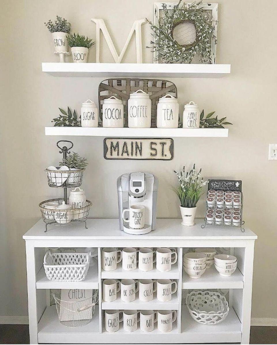 Popular Coffee Bar Ideas For Your Interior Design 08