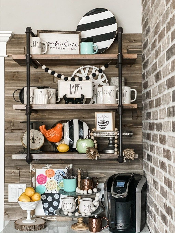 Popular Coffee Bar Ideas For Your Interior Design 12