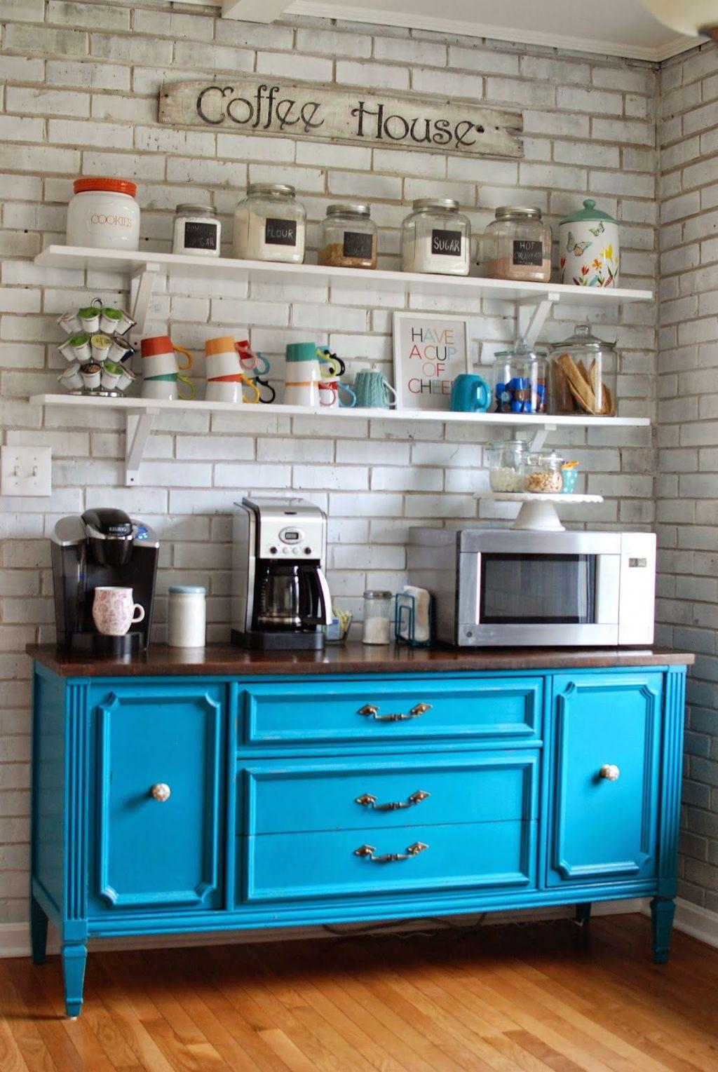 Popular Coffee Bar Ideas For Your Interior Design 20