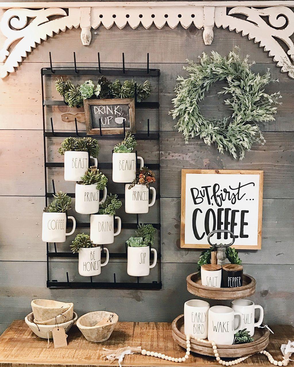 Popular Coffee Bar Ideas For Your Interior Design 24