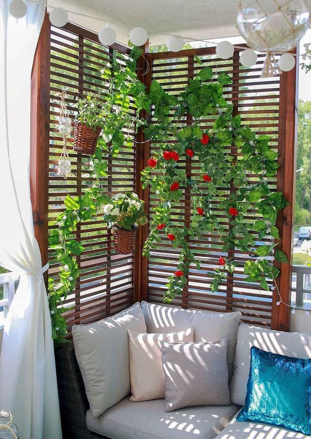 The Best Apartment Balcony Design Ideas 21